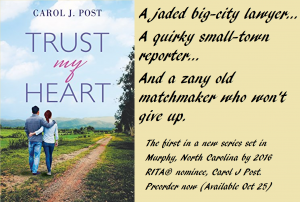 Trust My Heart, cover with blurb